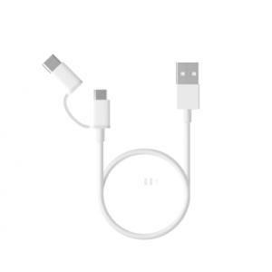 MI 二合一數據線 Micro USB to Type-C