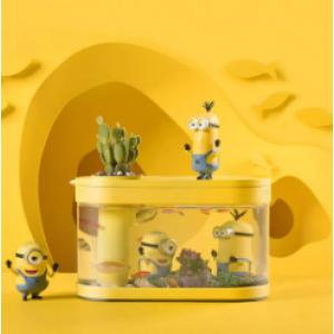 畫法幾何大眼萌兩棲生態懶人魚缸限量版
